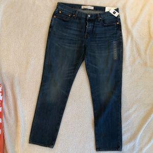 Gap 1969 Boyfriend Fit No Stretch Denim Jeans - 29